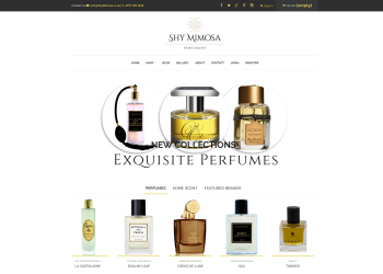 Shy Mimosa Perfumery Website Launched